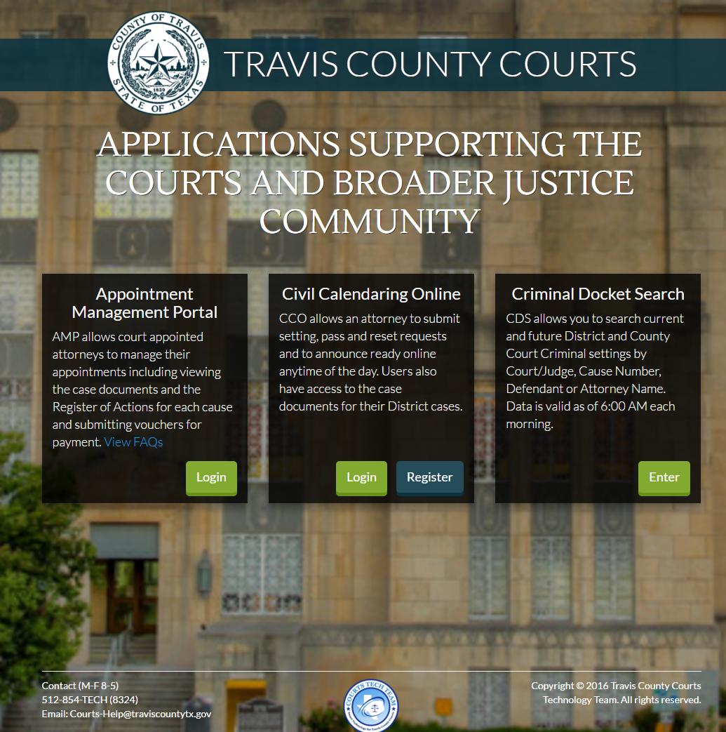 Indigent Defense Application and Attorney Management Portal